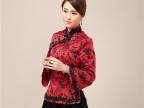 15秋冬中式改良旗袍上衣礼服中国风女装外套修身显瘦气质半身裙