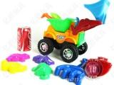 大号沙滩车 沙滩玩具 海滩玩具 儿童玩具 9件套 321 0.9