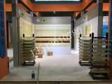 佛山市三水区金属展示架五金展柜卫浴展厅展示柜促销台定做厂家