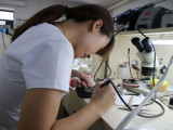 大连学手机维修培训来华宇万维有技术 好就业
