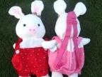 高档新款猪兔子儿童背包 双肩包