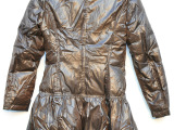 上海聚荣服装2014冬厂家直销特价韩版精品修身轻薄女式羽绒服