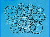 生产销售 非标定制密封圈 氟橡胶O型密封圈  耐油O型密封圈