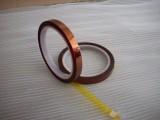 东莞业美厂家锂电池阻燃防火pi胶带 黑色金手指单面胶