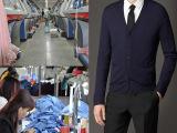 【淘工厂】羊毛衫小批量加工定制男式针织衫来图来样贴牌毛衣