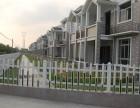 四川自贡PVC草坪栏杆找成都优美雅PVC栏杆厂家
