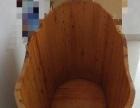 纯实木泡澡盆