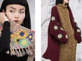 美国设计师品牌王紫珊纯手工刺绣钉珠精致女装