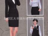 瑞利诗厂家直销 时尚职业套装女小西装定制OL 商务装 外套