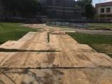 滁州加厚铺路钢板出租-软基路面铺垫