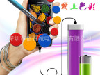 工厂低价供应手机数码移动电源 低价长条彩色迷你礼品赠品充电宝