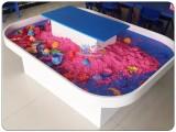 傲宝太空沙桌玩具桌沙盘桌游乐场儿童乐园手工桌幼儿园设备