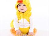 婴儿服装2014年秋冬款动物造型连体哈衣宝宝连身衣爬服万圣节服饰