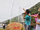 郑州合盛景区游艺项目人工喊泉广场旱音乐喷泉项目支持定制