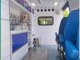 河源市人民醫院出院120長途救護車