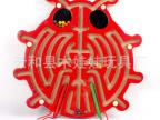 金龟子磁性迷宫 双磁棒 甲虫磁性运笔迷宫玩具亲子游戏木制玩具