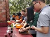 东莞农家乐可以动手野炊做饭适合上百人团建一日游