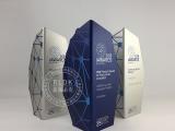 電鍍金屬獎杯創意定制訂做免費設計造型企業公司頒獎比賽獎杯