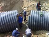 品牌HDPE钢带增强管制造