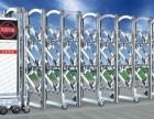 津南区电动伸缩门安装,不锈钢伸缩门专业厂家