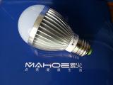 【麦火】特价高光效高可靠隔离电源车铝LED球泡灯 商业照明首选
