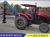 河南鼎峰机械设备电线杆打桩机挖坑机