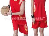 2014爆款广告印字篮球服定做 , 批发订制高档热转印号数字球服
