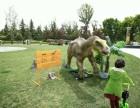 西安出租恐龙展马门溪龙蜿龙南方巨兽龙霸王龙自带绿植辅助工具