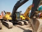 二手沃尔沃210 240大型进口挖掘机促销,精品二手进口机