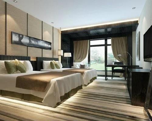 重庆两江新区酒店装修设计理念 酒店宾馆空间装潢设计 爱港装饰