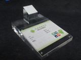 iPhone 6三星手机店耳机不锈钢展示架饰品挂架苹果配件展示托