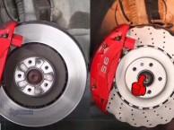 奥迪S6/S7/S8改装升级英国ECFRONT梅花刹车盘