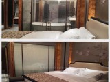 EVA胶片调光玻璃-欧毅/商场投影雾化隔断/钢化防火