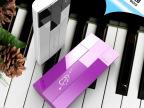 新款钢琴移动电源 大容量手机通用充电宝