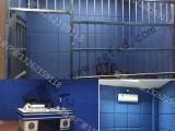 福喜多厂家公安局审讯室检察院派出所吸音隔音防撞软包背景墙墙贴