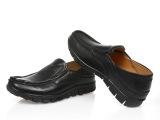 春秋 男士休闲皮鞋 头层牛皮小码男鞋 带按摩底单鞋36码37码3