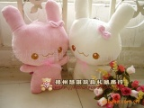 批发供应日本名家设计毛绒玩具/天使兔一件代发