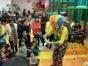 巴中百日宴儿童生日创意气球造型魔术泡泡秀杂耍滑稽小丑表演