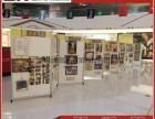 美术作品画展展架幼儿园绘画折叠展板带滑轮移动折叠书画展示架