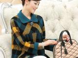 简狐中年秋装外套中老年女装秋冬装加厚羊毛外套妈妈装中年女毛衣
