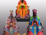 专业生产 树脂彩绘三官大帝 玻璃钢神像 寺庙佛像 可定制