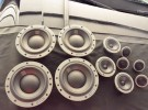 唐山奥迪A8L改装汽车音响丹拿372三分频
