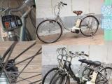 日本專業二手助力車/電單車亦可加裝電動功能 全新鋰電池 自行車 海員車