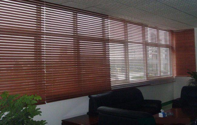 上海闵行区定做窗帘 闵行办公室大楼遮阳卷帘电动窗帘铝百叶定做