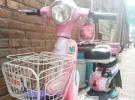 转让一台女士踏板迷你电动车600元