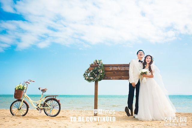 三亚海景婚纱照,厦门鼓浪屿海景婚纱照选摩登视觉摄影
