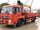 东风国五6.3吨8吨随车吊配置参数价格是多少一辆