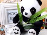 专利新品熊猫玩偶 泰迪熊录音玩具 情人节 生日礼物公仔外贸定制