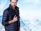 2014冬季新款精品时尚男式羽绒服 纯色立领休闲男式保暖外套 直销