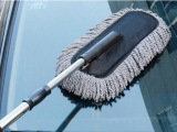 伸缩汽车拖把 蜡刷 清洁刷 汽车车掸纳米